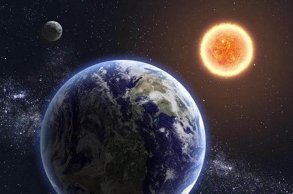 Terra, Sole e Luna