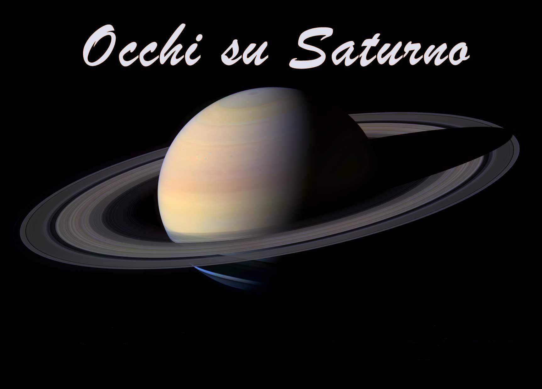 Occhi su Saturno!
